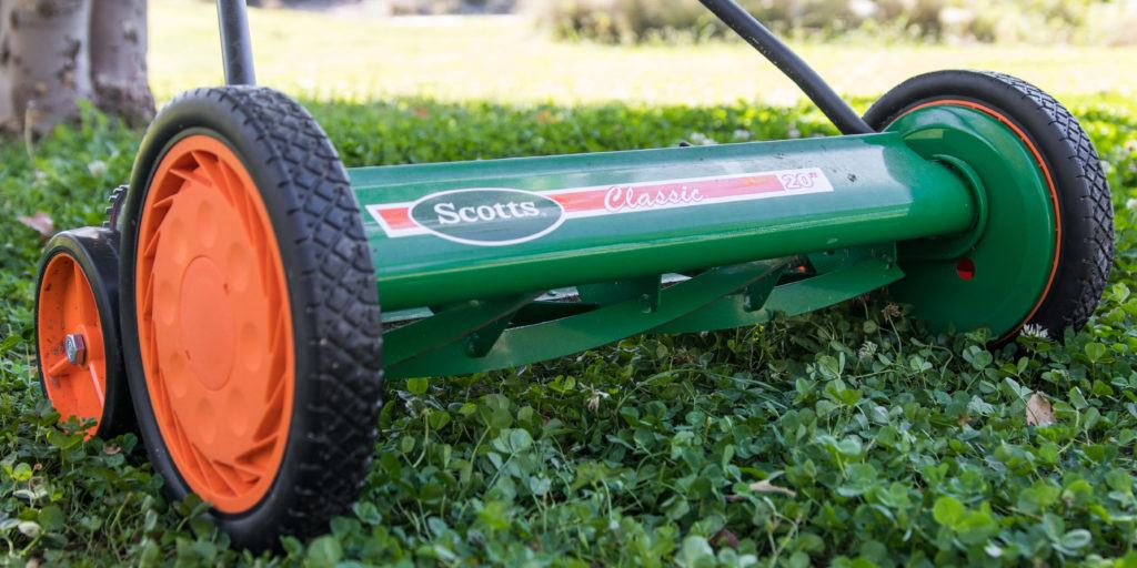 Volt Cordless Electric Reel Grass Lawn Mower